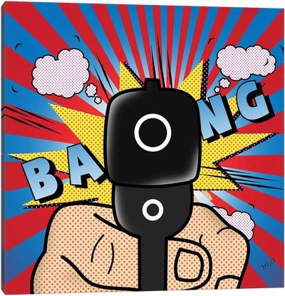 Bang Bang Canvas Art Print