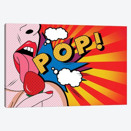 Pop II Canvas Print #MKH91} by Mark Ashkenazi Canvas Wall Art