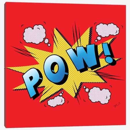 Pow Canvas Print #MKH92} by Mark Ashkenazi Canvas Art