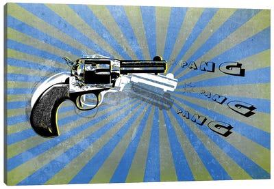 Bang Blue/Green Canvas Art Print