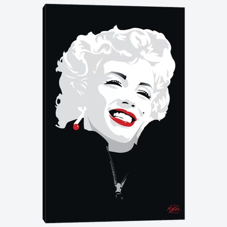 Miki Marilyn Canvas Print #MKI1} by Miki Canvas Art
