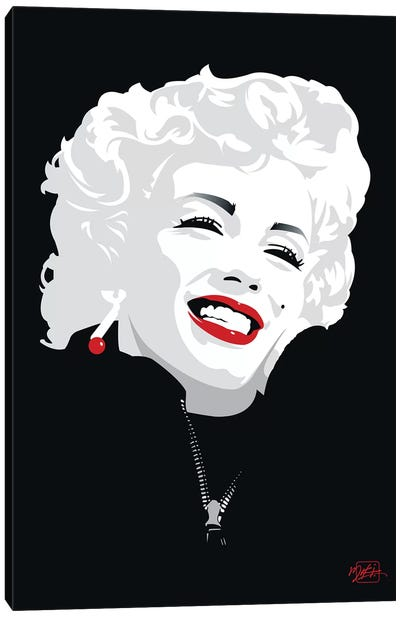 Miki Marilyn Canvas Art Print
