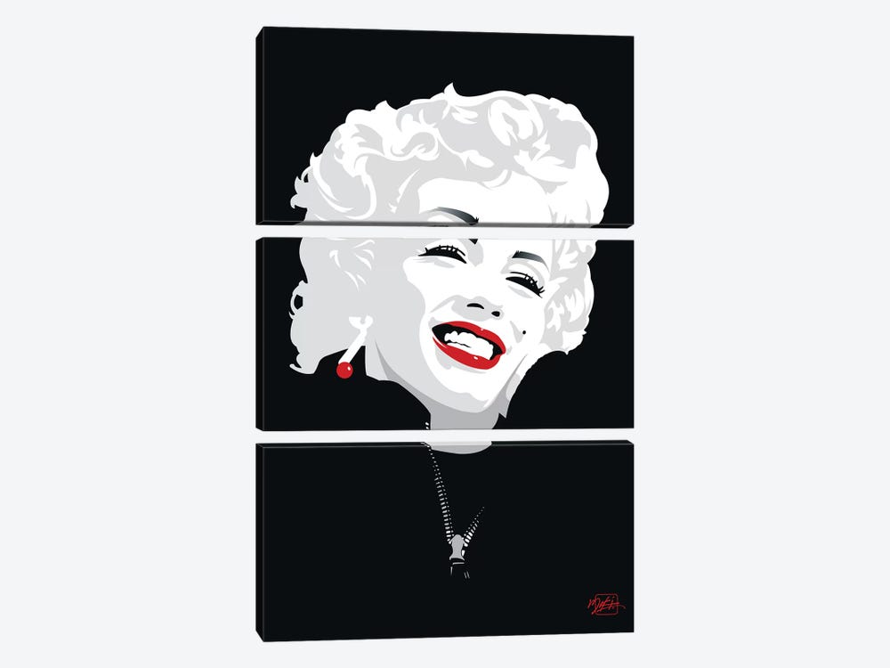 Miki Marilyn by Miki 3-piece Art Print