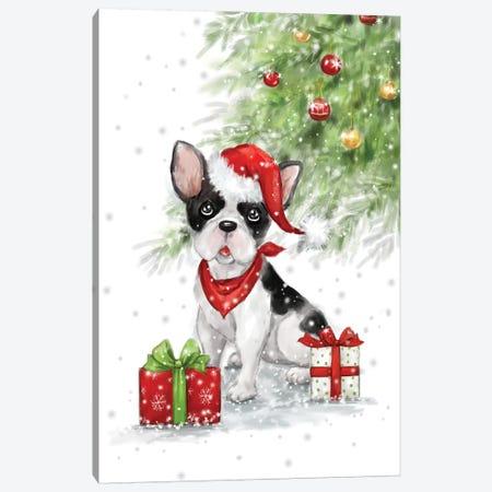 French Bulldog Canvas Print #MKK105} by MAKIKO Canvas Print