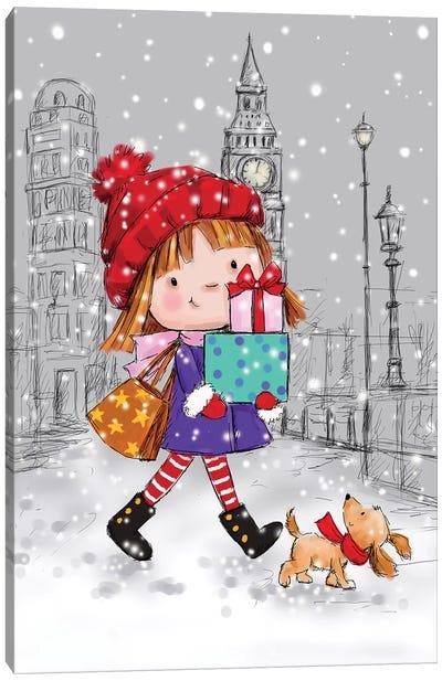 London Girl II Canvas Art Print