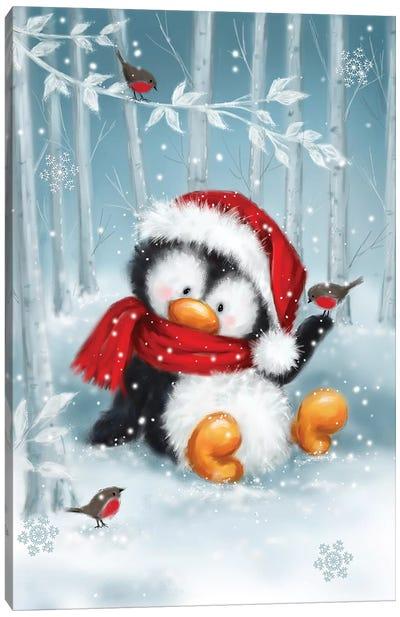 Penguin I Canvas Art Print