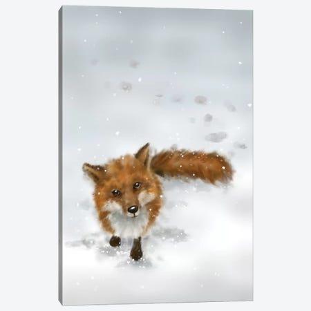 Fox Canvas Print #MKK99} by MAKIKO Canvas Print