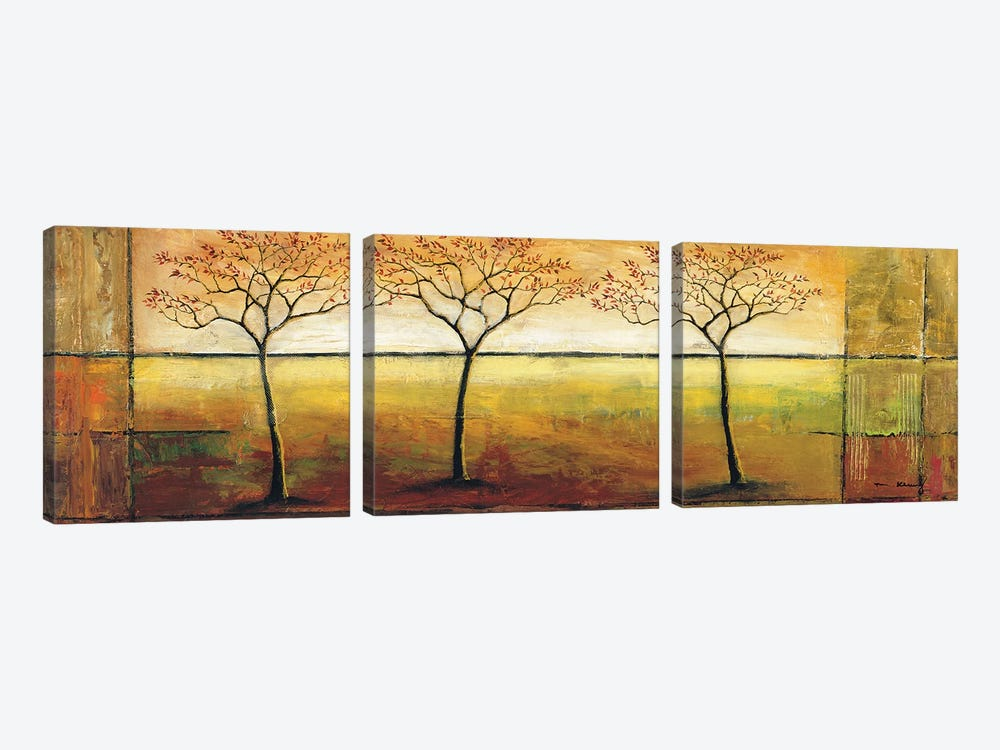Life Line I by Mike Klung 3-piece Canvas Wall Art
