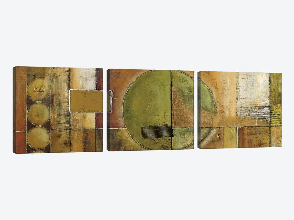 Modular Grid by Mike Klung 3-piece Canvas Art