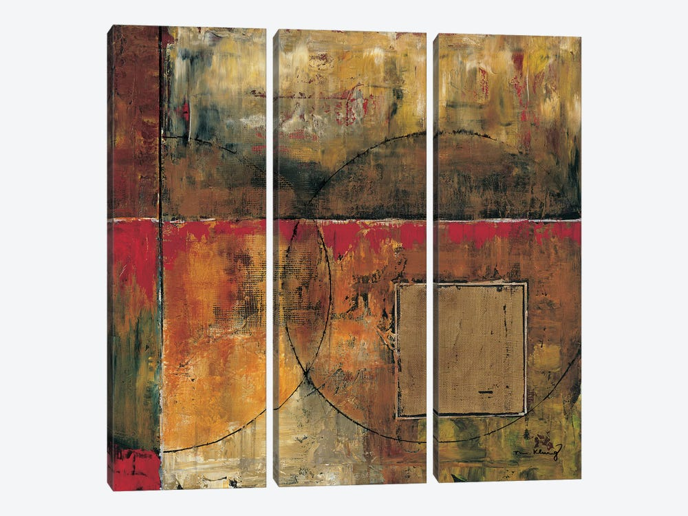 Motion II by Mike Klung 3-piece Canvas Wall Art