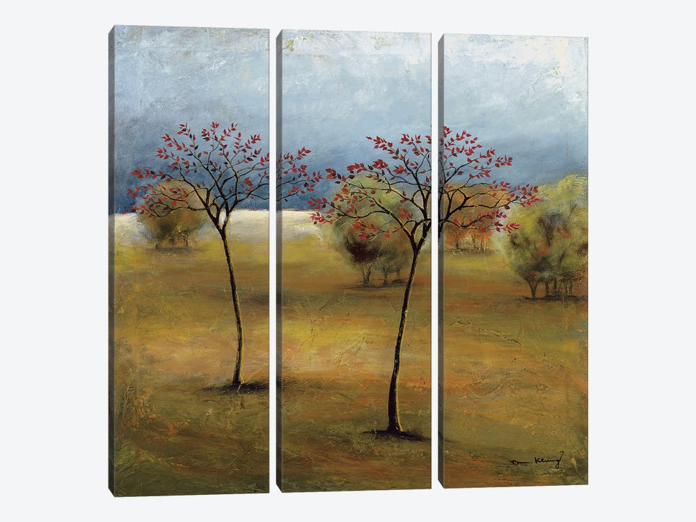 Observation II by Mike Klung 3-piece Canvas Artwork