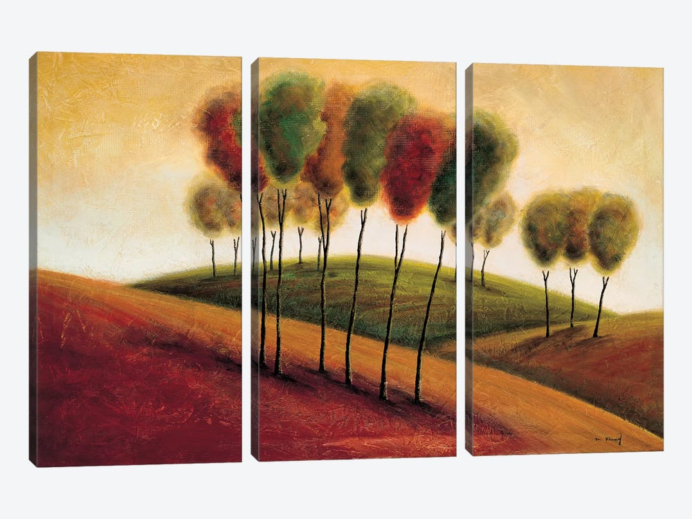 A New Morning I by Mike Klung 3-piece Canvas Artwork