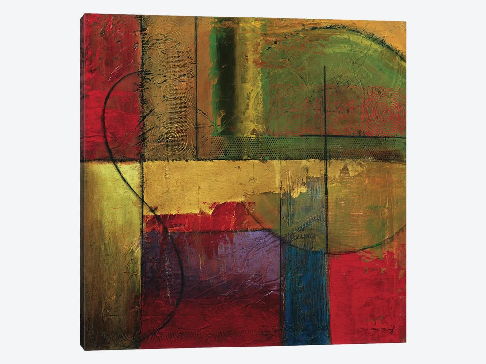 Opulent Relief I by Mike Klung 1-piece Canvas Wall Art