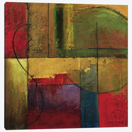 Opulent Relief I Canvas Print #MKL22} by Mike Klung Canvas Print