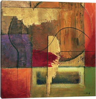 Opulent Relief II Canvas Art Print