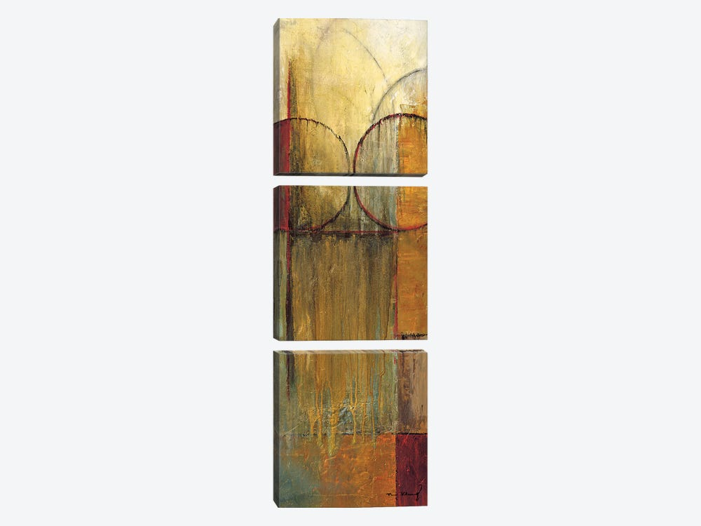 Slender Friends II by Mike Klung 3-piece Canvas Art Print