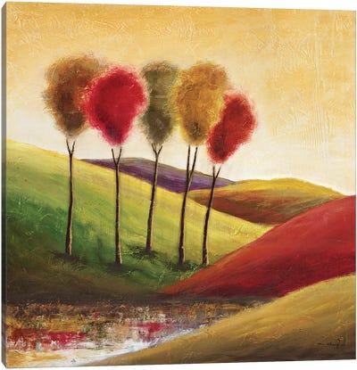 Endless Hills II Canvas Art Print