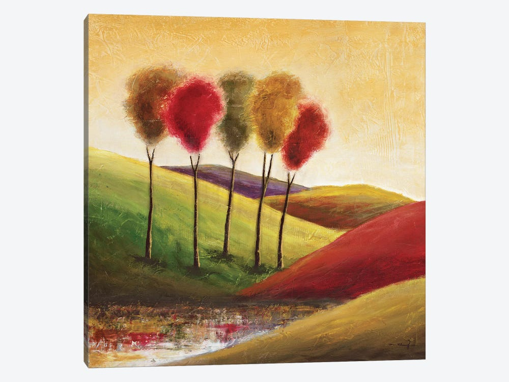 Endless Hills II by Mike Klung 1-piece Canvas Art Print