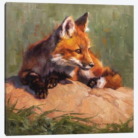 Midday Lounge Canvas Print #MKM12} by Mark McKenna Canvas Art Print