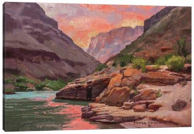 Nightfall At Pumpkin Springs Canvas Art Print