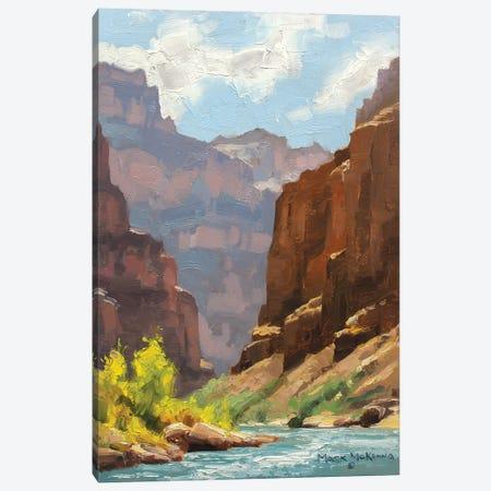 Receeding Cliffs Canvas Print #MKM16} by Mark McKenna Canvas Art