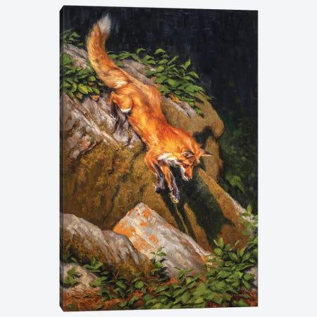 The Red Bandit Canvas Print #MKM25} by Mark McKenna Canvas Print