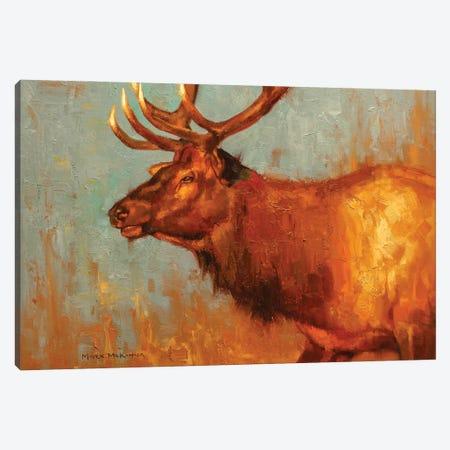 Timber Bull Canvas Print #MKM29} by Mark McKenna Canvas Wall Art