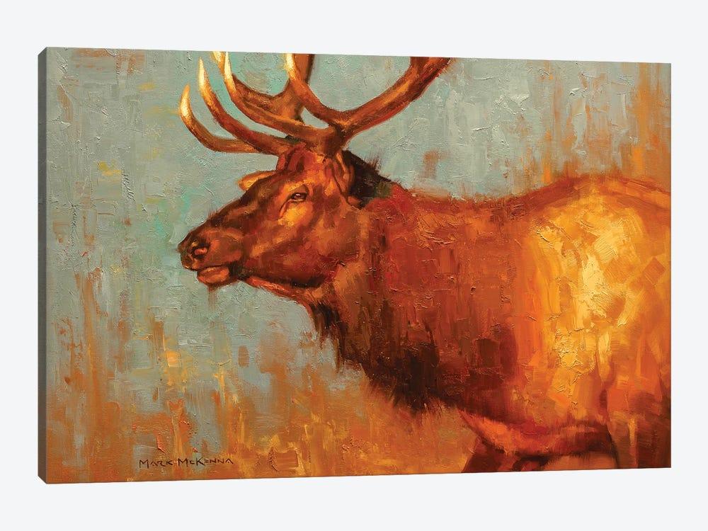 Timber Bull by Mark McKenna 1-piece Canvas Artwork