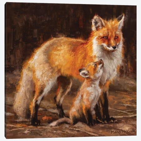 Admiration Canvas Print #MKM2} by Mark McKenna Canvas Artwork