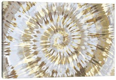 Tie Dye Neutral Canvas Art Print