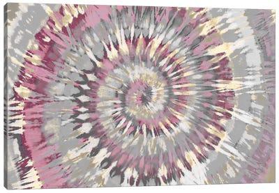 Tie Dye Pink Canvas Art Print