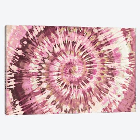 Tie Dye Pink II Canvas Print #MKN12} by Molly Kearns Canvas Wall Art