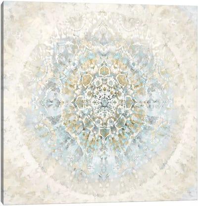 Tapestry Aqua Blue Canvas Art Print