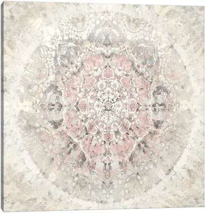 Tapestry with Pink Canvas Art Print