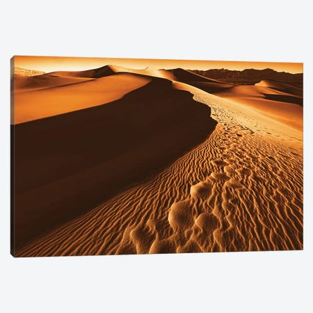 Death Valley Canvas Print #MKR3} by Mike Kreiten Canvas Art