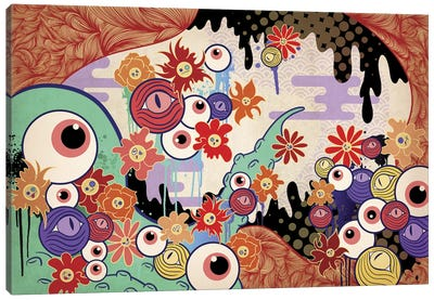 Swirl of Mesh Canvas Art Print