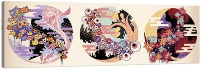 Triple Fun Canvas Art Print