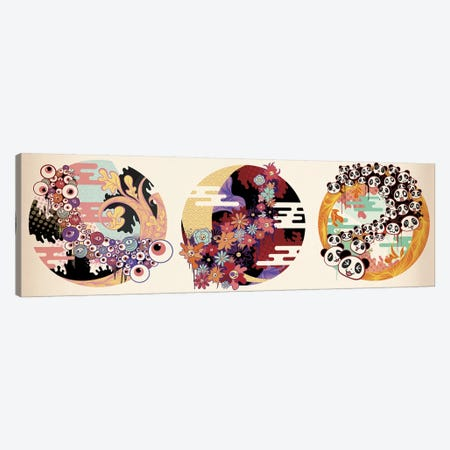 Triple Fun #2 Canvas Print #MKS16} by 5by5collective Canvas Art