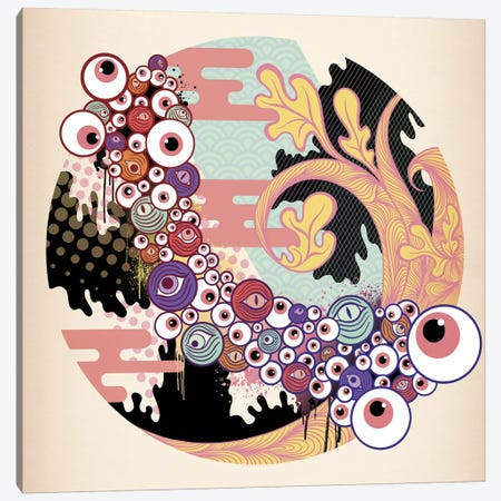 Eye Catching Canvas Print #MKS7} by 5by5collective Canvas Art