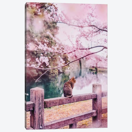 Tender And Pink 3-Piece Canvas #MKV101} by Hobopeeba Canvas Artwork
