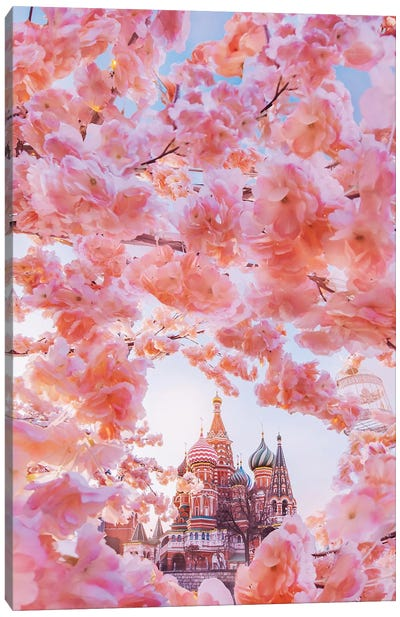 The Moscow Spring Canvas Art Print