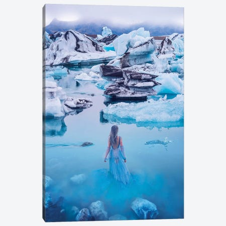 The Most Beautiful Place In Iceland Canvas Print #MKV114} by Hobopeeba Canvas Artwork