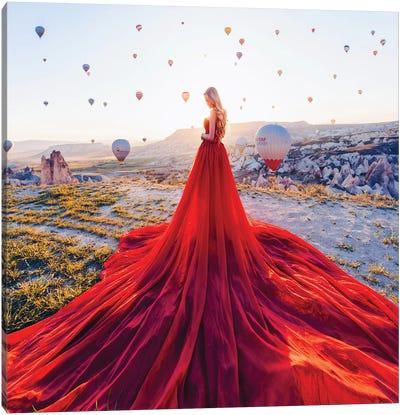 The Splendid Sun In Cappadocia Canvas Art Print