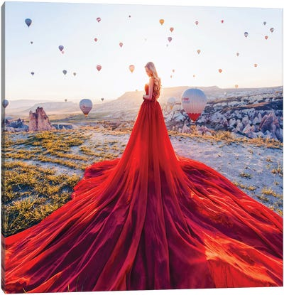 The Splendid Sun In Cappadocia Canvas Art Print