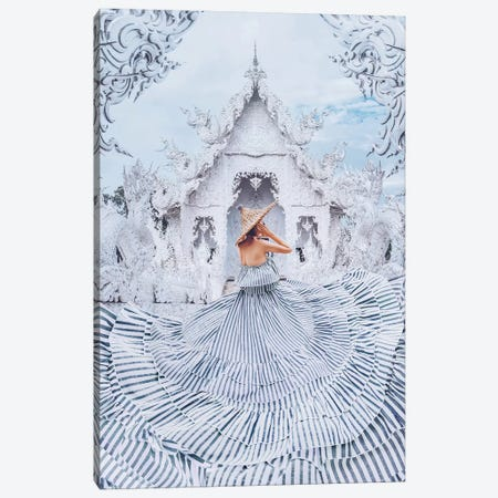 The White World Canvas Print #MKV118} by Hobopeeba Art Print
