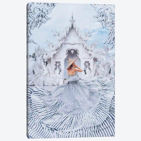 The White World Canvas Print #MKV118} by Hobopeeba Art Print