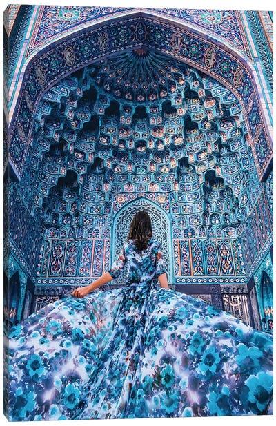 Blue Wanderlust Canvas Art Print
