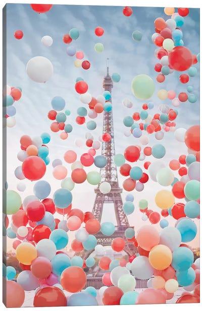Vive La France Canvas Art Print