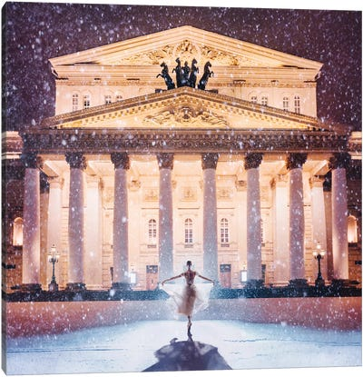 Bolshoi Theatre Canvas Art Print