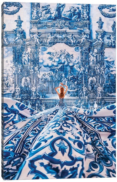 Azulejo Dream Canvas Art Print